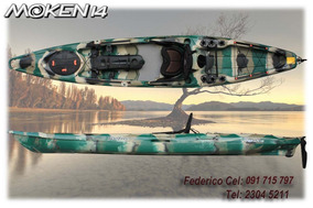 Kayak Feelfree - Moken 14 Pesca Full