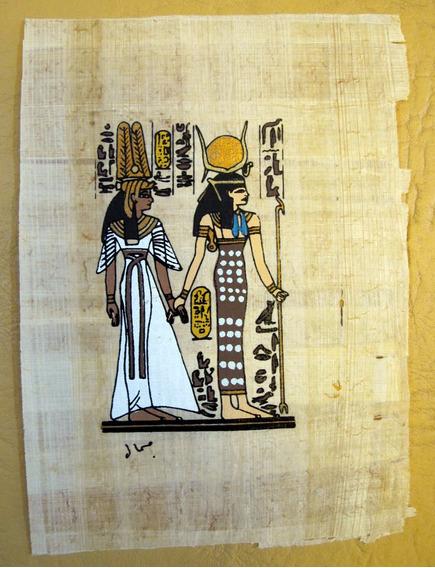 Papiros Egipcios Originales 9x12 Cm Y 12x12 Cm Decoracion