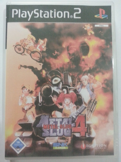 Metal Slug 4 Ps 2 Game - Frete Grátis