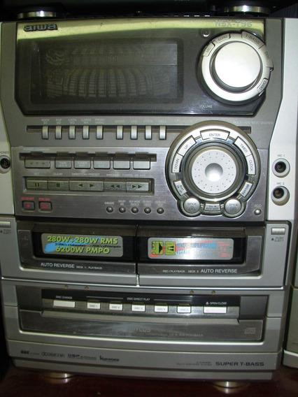 Micro System Aiwa Nsx-t96 - Tudo Ok - U.dono - 560 W - Rms