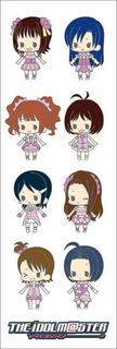Plancha De Stickers De Anime De The Id@lmaster