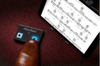 Controlador Cambiador De Pagina Partituras Bluetooth Irig
