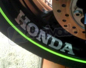 Adesivo Honda Racing Para Roda Cbr Hornet Cb500 Cb600 Cb300