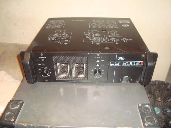 Potencia Peavey Modelo Cs 800x2