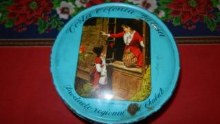 Lata Torta Colonia Galesa -coleccionable