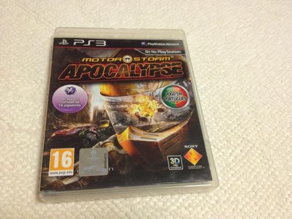 Motor Storm Apocalypse (jogo Em Português) Compatível Com 3d