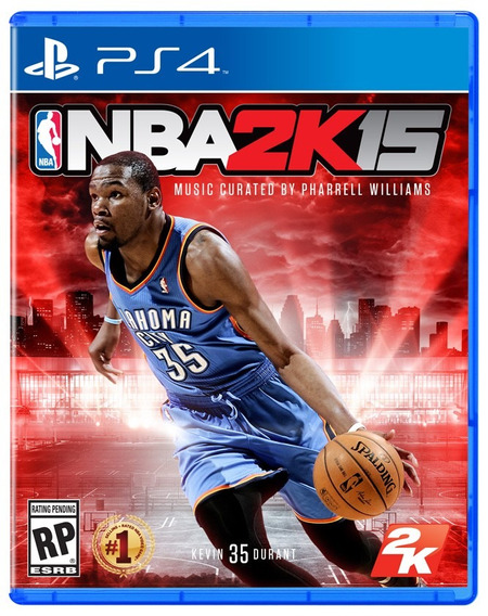 Jogo Novo Lacrado Nba 2k15 Para Playstation 4 Ps4