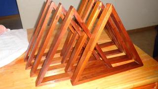 Triangulos De Cedro Reciclado ¡¡¡¡¡¡¡¡¡