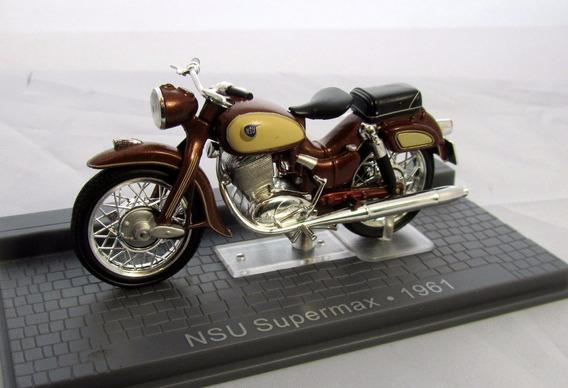 Miniatura Moto Nsu Supermax 1961 - Escala 1:24 - Na Caixa !!