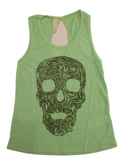 Musculosa Mujer 47 Street Verde