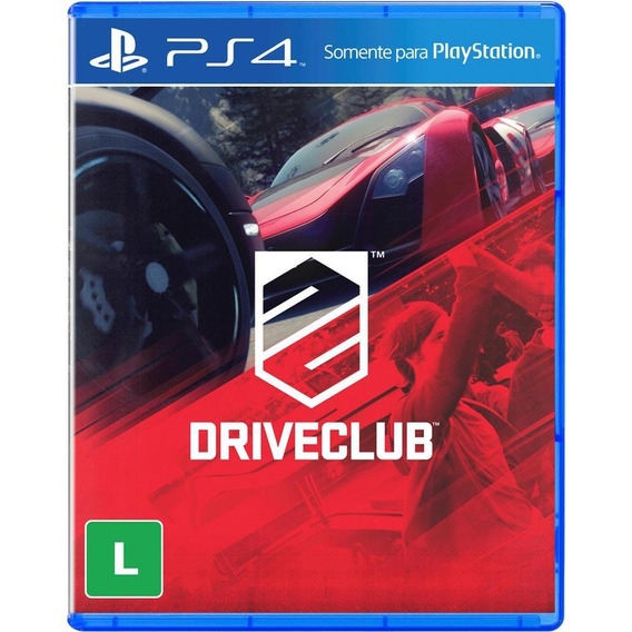 Jogo Drive Club Ps4 - Playstation 4 Midia Física