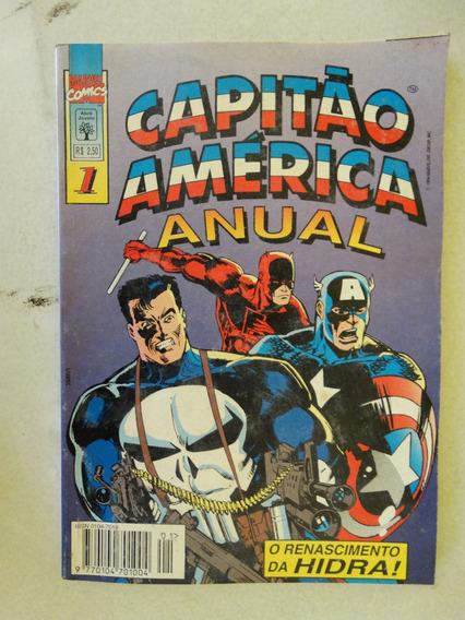 Capitão América Anual Nº 1! Editora Abril Dez 1994!
