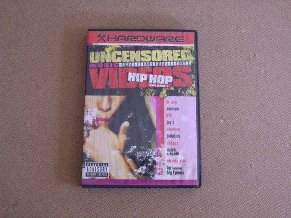 Uncensored - Videos Hip Hop Volume 1 - Dvd, Edição 2003