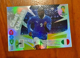Cards Copa 2014 Adrenalyn Game Changer Balotelli (itália)