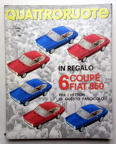 #32. Revista Quattoruote - N° 6 - Giugno 1965