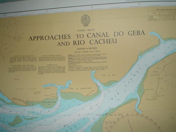 Antiguas Cartas Nauticas Inglesas
