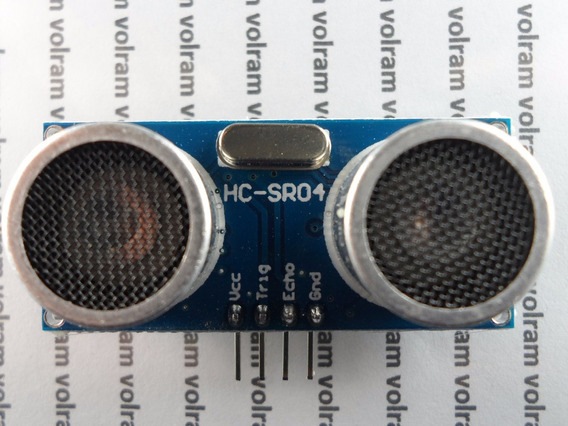 Sensor De Distância Hc-sr04 Por Ultrassom Arduino Pic Mod