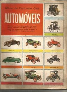 Álbum De Figurinhas Com Automóveis