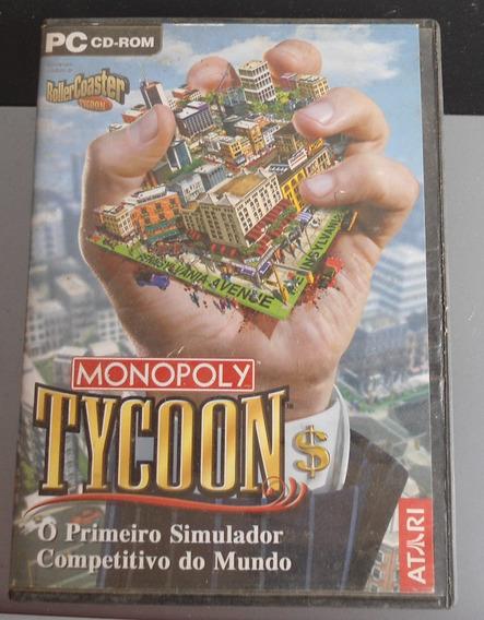 Monopoly Tycoon - Atari - Original - Para Pc