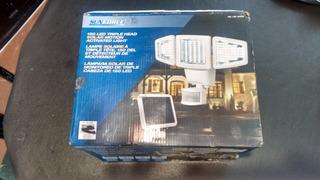 Lampara Solar De Monitoreo Triple Cabeza 150 Leds