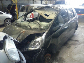 Honda Fit 2011 Aut. Dado De Baja Con Alta De Motor