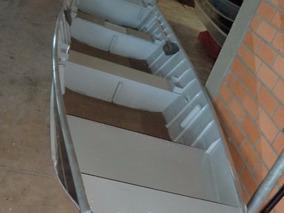 Casco Barco De Aluminio Way 600 Semi Chato 35% Ent + 10x Sem