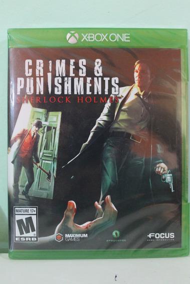 Sherlock Homes - Crimes E Punishments - Frete Grátis
