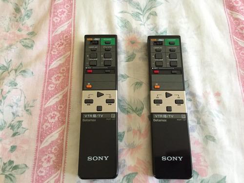 Control Remoto Nuevo Para Betamax Sony Beta Rmt-137