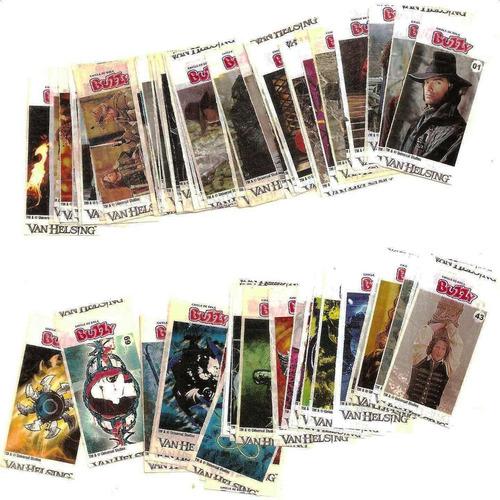 Figurinhas Buzzy Van Helsing - Tenho Muitas