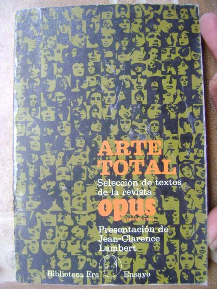 E4 Arte Total- Revista Opus Seleccion- J Lambert- 1974