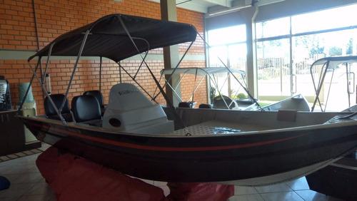 Casco Lancha De Alumínio 5m Fortboat Premium 500