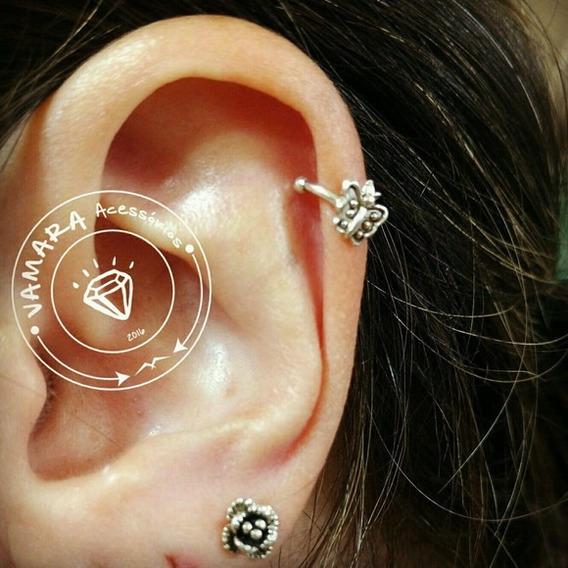 Piercing De Prata 925 Pressão - Borboleta Bali