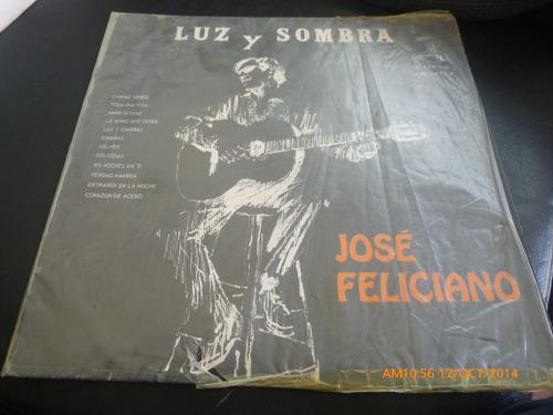 Vinilo Lp Jose Feliciano  Luz Y Sombra (u180