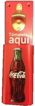 Destapador Corcholatero Coleccionable Coca Cola