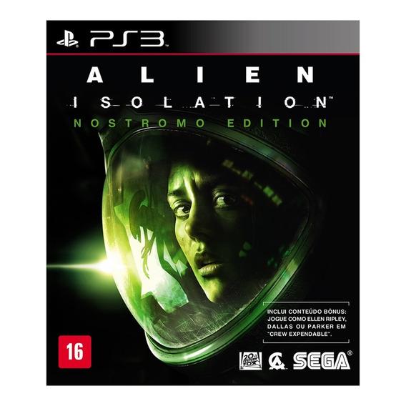 Jogo Alien Isolation Nostromo Edition Para Playstation 3 Ps3