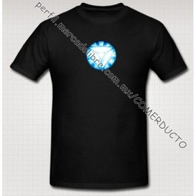 Playera Iron Man Para Niños Reactor Arc Version 2 Triangulo