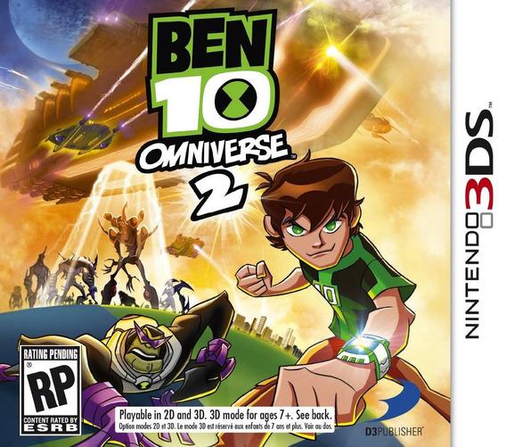 Jogo Ben 10 Omniverse 2 Nintendo 3ds Lacrado Frete Grátis