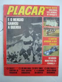 Revista Placar Nº 288 10/75 Com 3 Posters