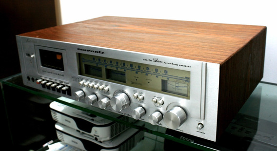Receiver Com Tape Deck Marantz 4025