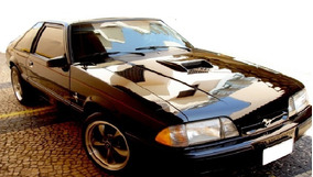 Ford Mustang Hacthback Lx 2.3 1990 Foxbody Ateliê Do Carro