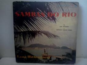 Lp Lana Bittencourt Sambas Do Rio - Luiz Antonio E Tom Jobim