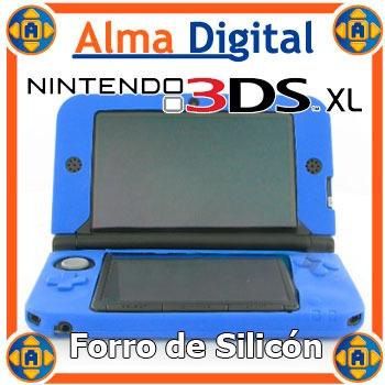 Forro Silicon Nintendo 3dsxl Estuche Protector Goma 3ds Xl