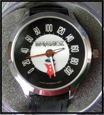 Relogio De Pulso Velocimetro Maverick V8