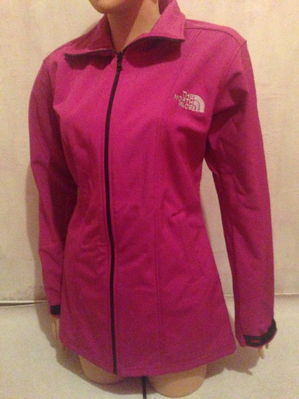 Casaca Larga Softshell Fucxia The North Face Alternativa L