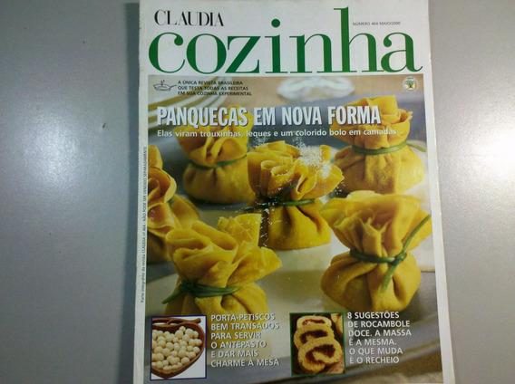 Revista Claudia Cozinha N.464 Panquecas Em Nova Forma