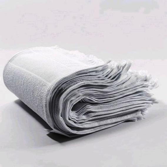 Kit 100 Toalhinhas De Mão Brancas,boca,toalha,atacado Bebê