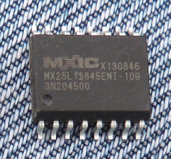 Mx25l128 Memoria Flash Spi Soic16 Modem Router Mx25l12845emi