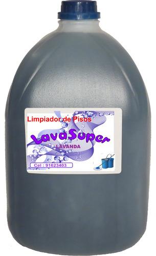 Limpia Pisos Lavanda  Lavasuper  Bidon De 5 Litros