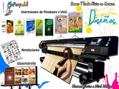 Impresión Gigantografia Vinil Pendón Rotulaciones Stickers