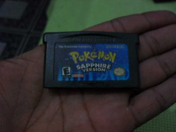 Pokémon Sapphire Version Para O Game Boy Advance. 100%